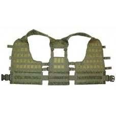 VEST UMTBS 6SH112 MOLLE BASE in DIGITAL FLORA by TECHINKOM ORIGINAL NEW