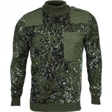 Sweater n / w with camouflage lining