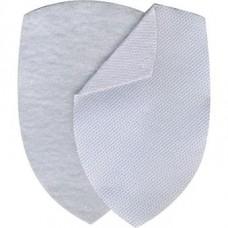 Velcro for police MIA white chevrons