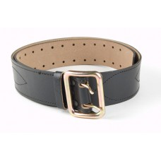 Belt strap with anodized plate