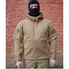 Jacket Dozornyi-2 Heavy fleece with membrane Article GSG-8 Coyote