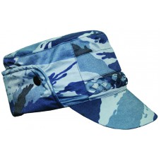 Cold-proof cap with queue