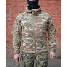 Jacket Dozornyi-2 Heavy fleece with membrane Article GSG-8 Multicam