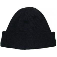 Cap half-woolloen
