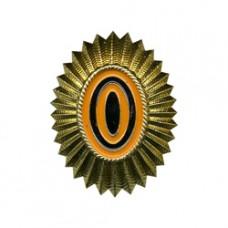 Sun Badge on wedge cap, new sample