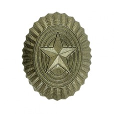Badge BC on wedge cap, field