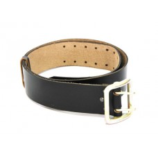 Belt strap with anodized plate, unpiercing