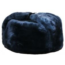 Ear-flapped cap nat.fur