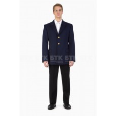 Single-breasted service coat