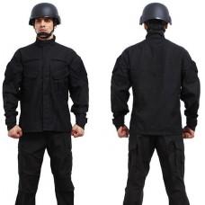 ACU black suit old American-style