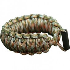 Paracord bracelet Cord with flint and tinder