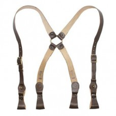 Shoulder Strap (portupeyny) Double Brown