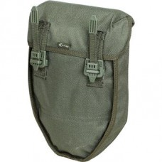 Pouch for folding shovel