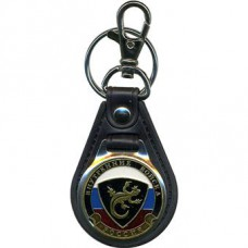 Russian Interior Troops Keychain Lizard