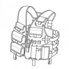 Vest discharge Tarzan M24