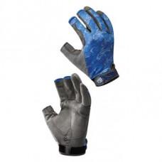 Gloves Buff Figting Work Skoolin Azul