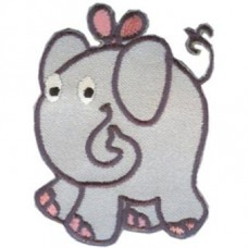 Iron-On transfer -1349.2 ELEPHANT gray