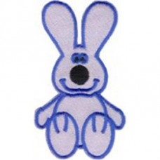 Iron-On transfer -1330 Gray rabbit