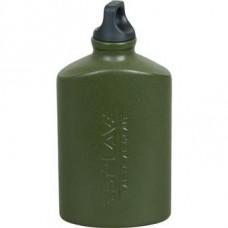 Flask aluminum flat TG