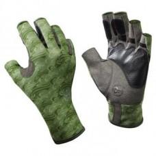 Gloves fish. Buff Angler Gloves Skoolin Sage