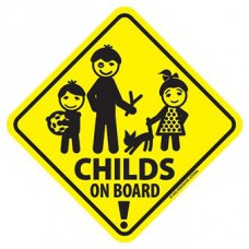 Sticker Child of board
