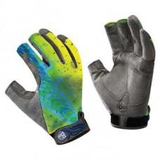 Gloves Buff Figting Work Dorado