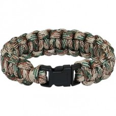 Paracord bracelet plastic buckle