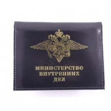 Cover for driving license and certificate MVD with badge