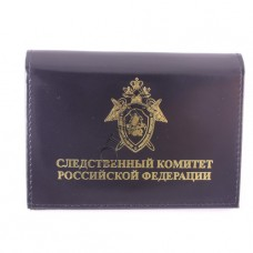 Cover for driving license and certificate Sledstvennyi komitet RF with badge