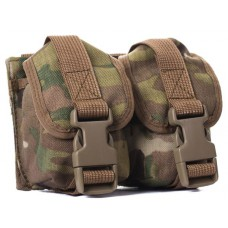 Grenade pouch for 2 grenades (fastex)