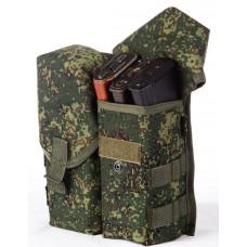Magazine pouch (4-6 magazines AK (add. MOLLE sideway))
