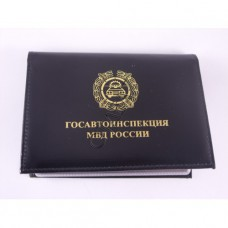 Cover for driving license and certificate DPS with badge