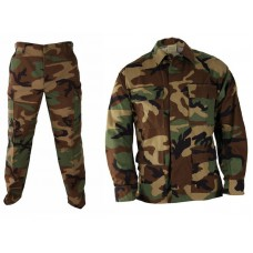 BDU field suit