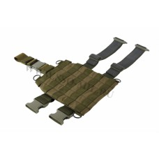 Platform for mounting removable hip holsters, bags, covers. MOLLE Platform
